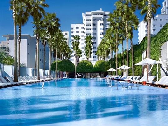 Le Delano South Beach est une adresse très tendance à Miami