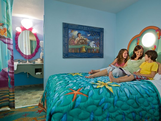 Le Disney's Art of Animation Resort Room