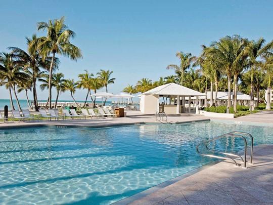La piscine de L'hôtel Casa Marina