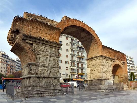 L'arc de Galère à Thessalonique
