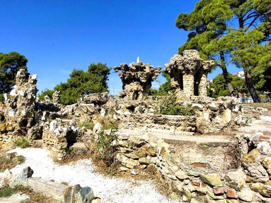 Les jardins du Pacha à Thessalonique