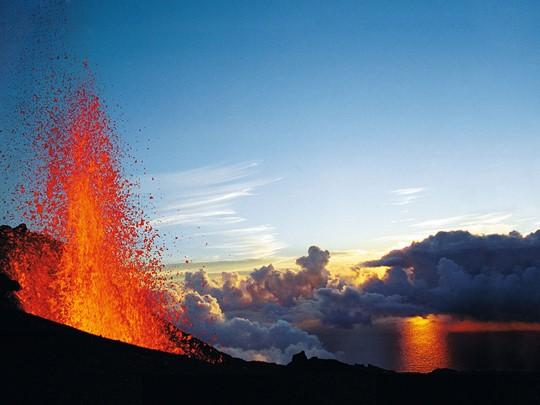 Le volcan du Piton de la Fournaise