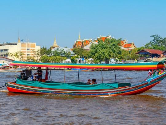 Balade sur les klongs de Thonburi à Bangkok