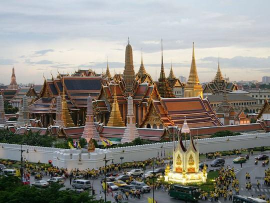 Visite du fameux Grand Palais de Bangkok