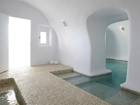 Spa de l'hôtel Kirini Suites & Spa