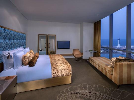 Les chambres du Jumeirah At Etihad Towers