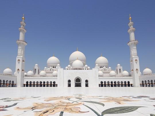 Découvrez la Mosquée de Sheikh Zayed