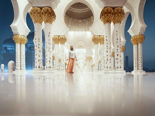 Admirez l'une des plus grandes mosquée au monde