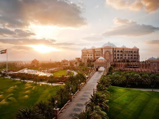 Vue de l'Emirates Palace