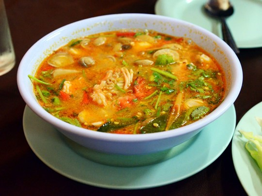 Découvrez la soupe Tom Yam à Phnom Penh