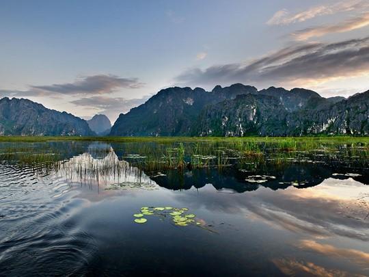 Visite de la réserve naturelle de Van Long au Vietnam