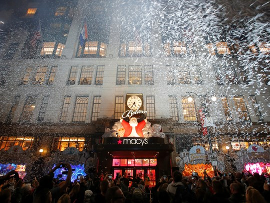 Le Macy's et ses vitrines de Noël qui ont bercé l'enfance des New-yorkais