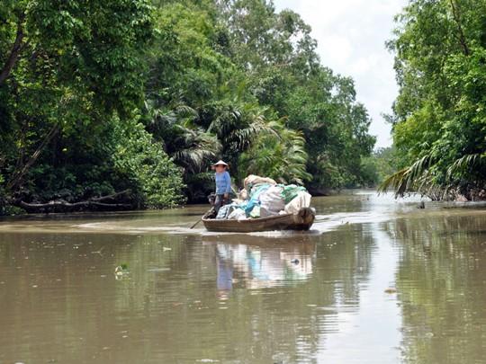 La vie au fil du Mékong dans le sud du Vietnam
