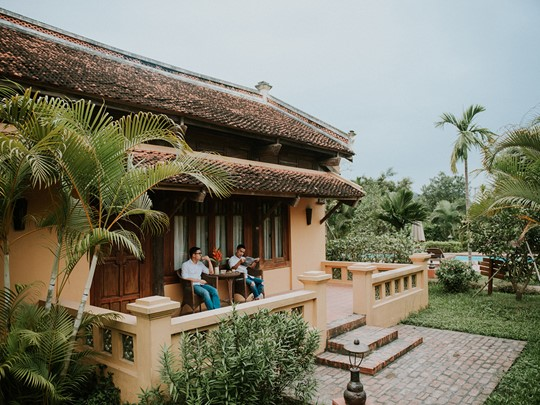 Suite de l'Hôtel Emeralda Ninh Binh