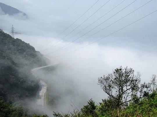 La route du col des nuages