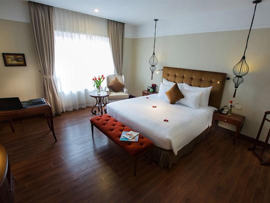 Chambre de l'hôtel La Siesta