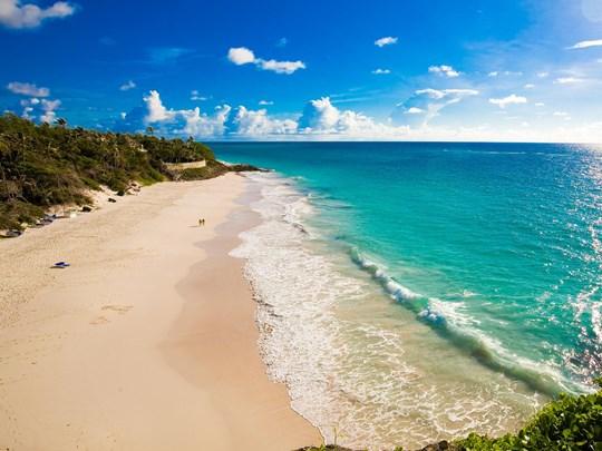 Crane Beach à la Barbade