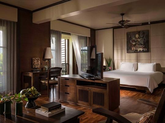 Les chambres de l'Anantara Golden Triangle