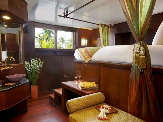 Une cabine de l'Anantara Cruise