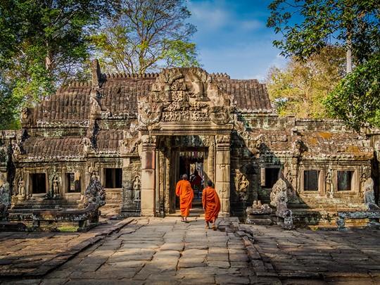 Explorez les temples d'Angkor, véritables joyaux cambodgiens
