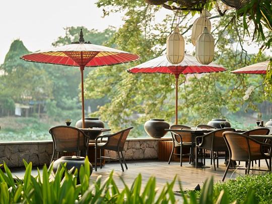 Le restaurant Deck de votre hôtel à Chiang Mai