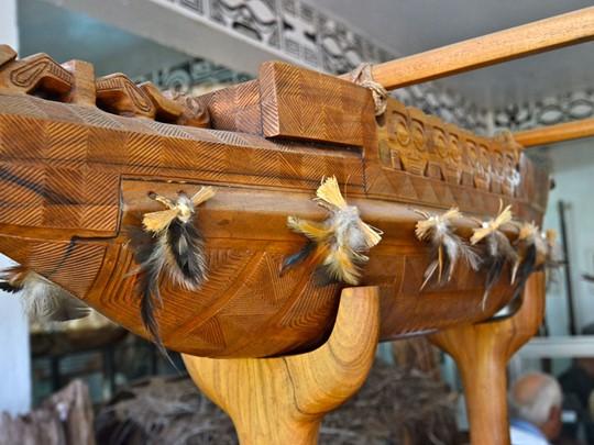 Visite du musée de Vaipaee