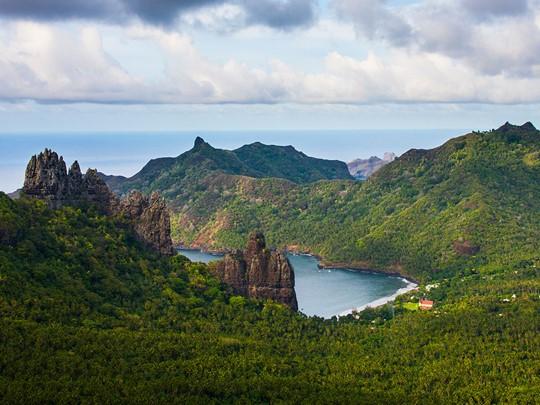 Paysages enchanteurs des îles Marquises