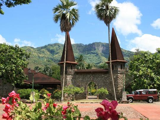 Visite du village de Taiohae