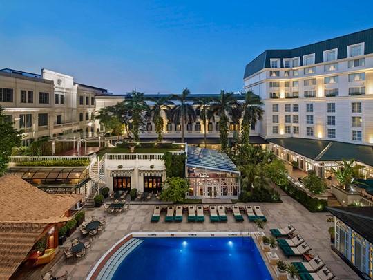 Le superbe hôtel Sofitel Legend Metropole