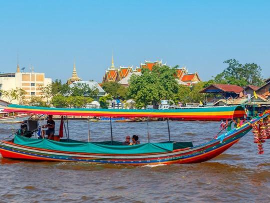 Balade exotique sur les fameux klongs de la rivière Chao Phraya