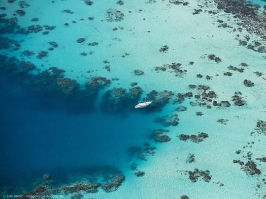 Bora Bora et son lagon magnifique