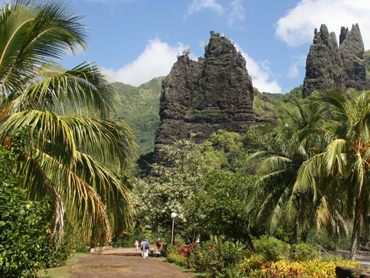 Visitez les vestiges archéologiques de l'île