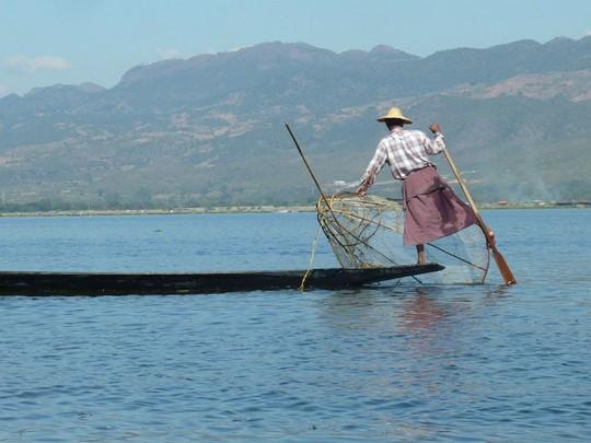 Les pêcheurs du lac Inle