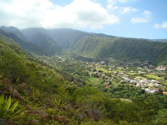 L'Entre-Deux, un joli village créole situé entre deux rivières