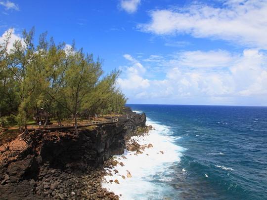Le sud de l'île et ses décors surprenants