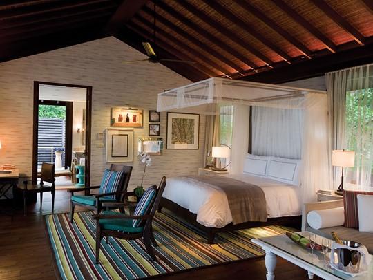 Garden View Villa de l'hôtel Four Seasons Seychelles