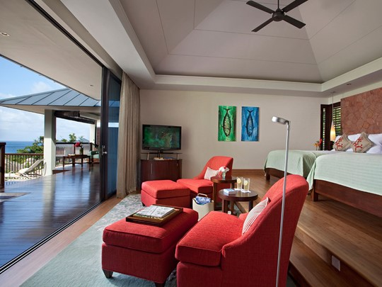 Bayview Pool Villa de l'hôtel Raffles Praslin