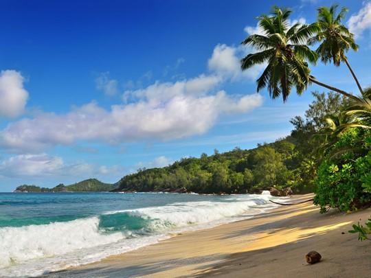 Profitez du cadre idyllique de la superbe plage de Takamaka