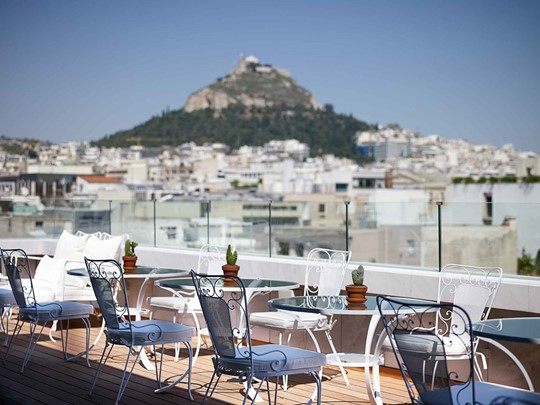 Le New Hôtel à Athènes