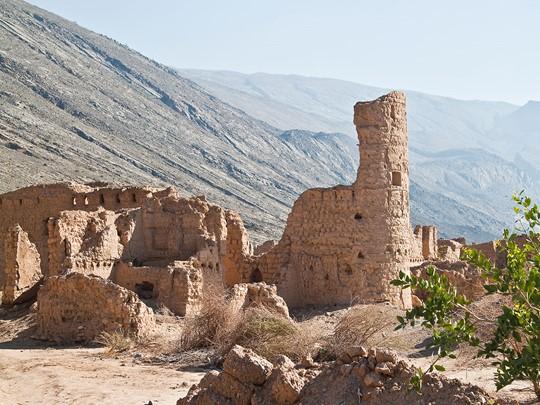 Les ruines de Tanuf