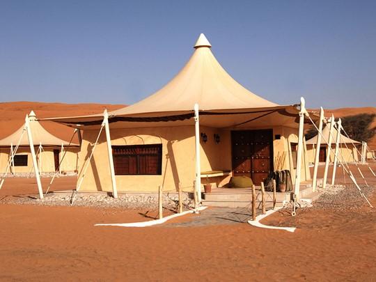 Le Desert Night Camp et ses tentes de style bédouin