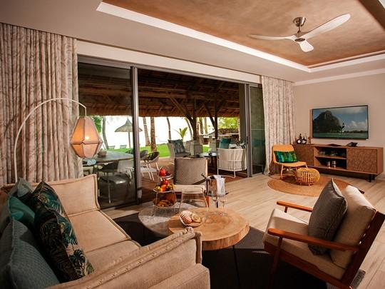 Le salon de la Paradis Villa