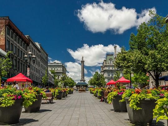 La place Jacques-Cartier, un carrefour culturel au coeur du faubourg
