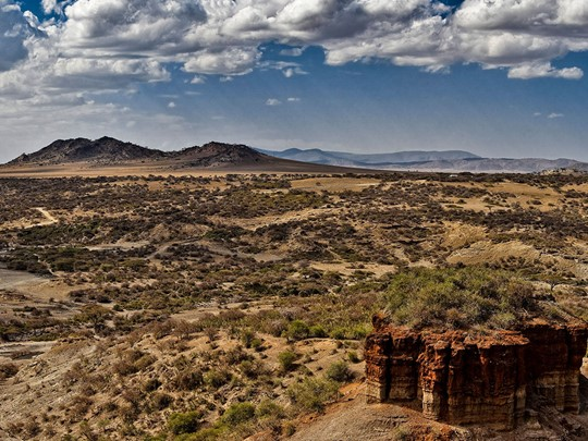 Visite du site paléonthologique de Olduvaï en Tanzanie