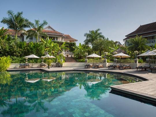 La piscine de l'hôtel Luang Say Residence à Luang Prabang