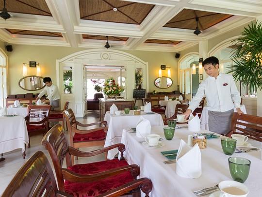 Restaurant La Belle Epoque de l'hôtel Luang Say Residence à Luang Prabang