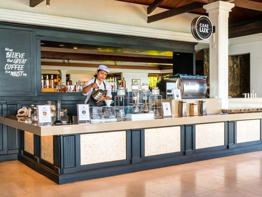 Dégustez un succulent Café LUX*