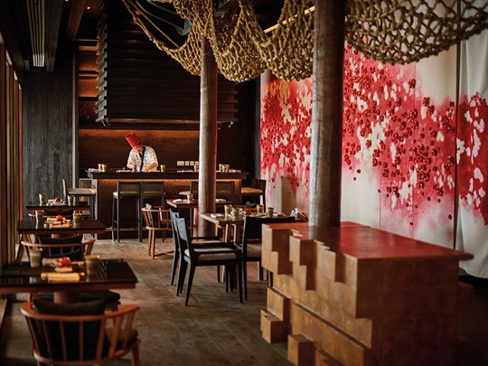Le restaurant Umami