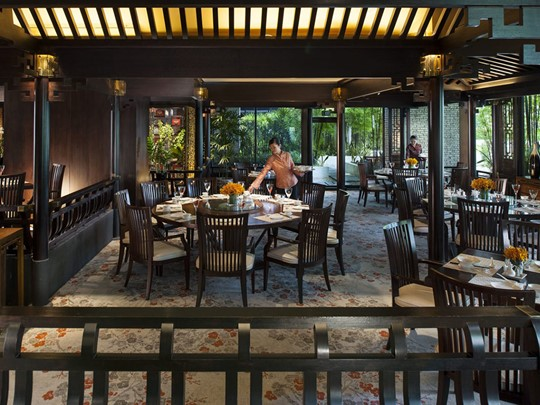Le restaurant Cherry Garden du Mandarin Oriental