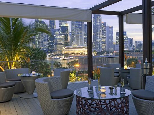 BAY@5 Lounge de l'hôtel Mandarin Oriental